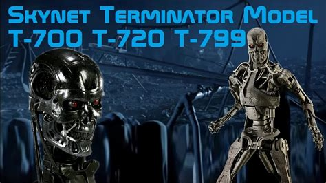 Skynet Terminator Model: T-700, T-720 and T-799