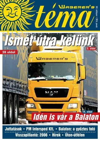 Téma magazin 2016/01 by Waberer's - Issuu