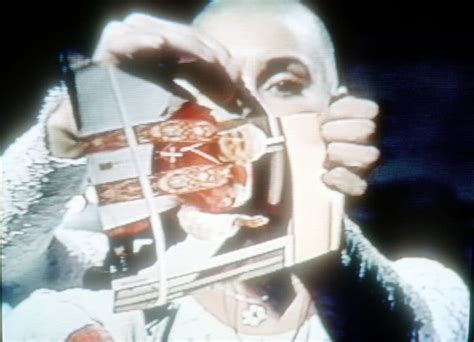 It's 28 Years Since Sinead O'Connor Tore Up A Pic Of The