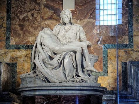 Michelangelo's Pietà - Perfection in marble at the Vatican!