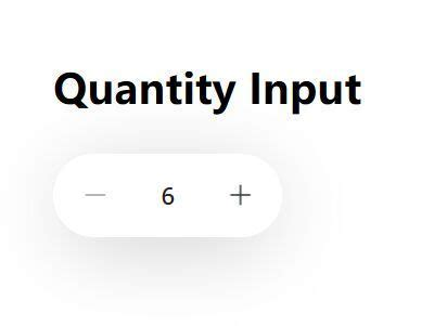 Beautiful Number Spinner In Pure JavaScript - Quantity