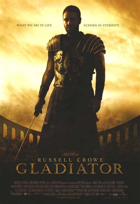 Gladiator movie posters at movie poster warehouse