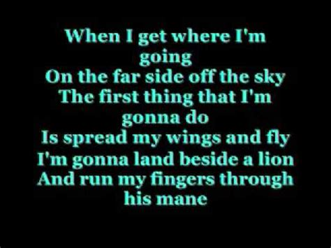 When I Get Where I'm Going with lyrics - YouTube