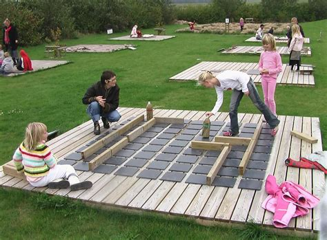 Giant home made Quoridor | Outdoor games for kids