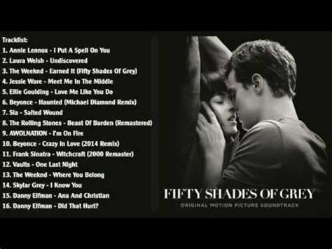 Fifty Shades Of Grey Various Artists OST 2015 1 - YouTube