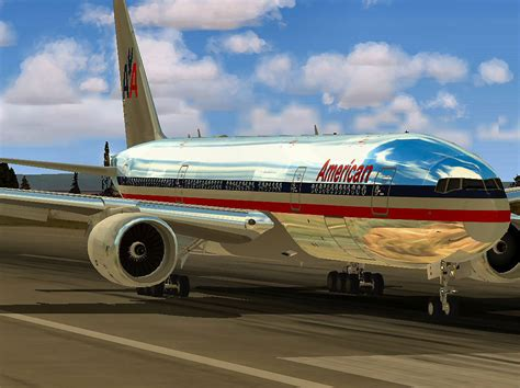 American Airlines Boeing 777-200ER for FSX
