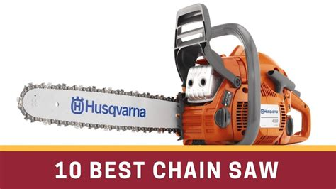 10 Best Chain Saw Review - YouTube