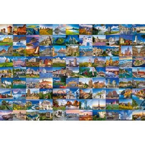 Ravensburger 99 Beautiful Places of Europe 3000pc • Crayons