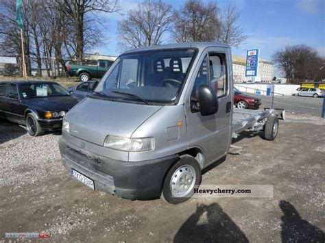 Fiat ducato 2001 Chassis Truck Photo and Specs