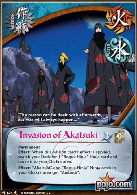 Pojo's Naruto Card of the Day