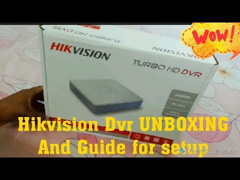 HIKVISION DS-7100 series Turbo HD DVR [DS-7104HGHI-F1