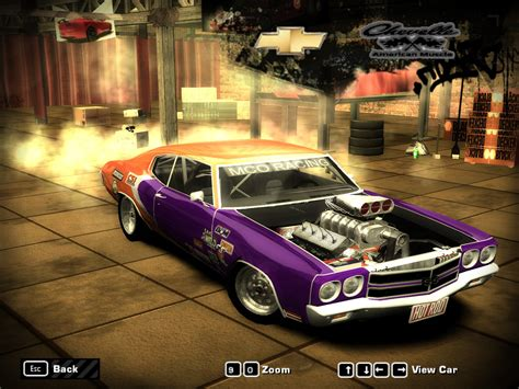 Need For Speed Most Wanted Chevrolet 1970 Chervolet