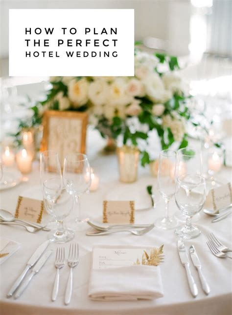 5 Reasons a Hotel Wedding is Right for You   Wedding table