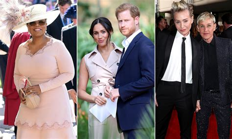 Meet Prince Harry and Meghan Markle's new celebrity