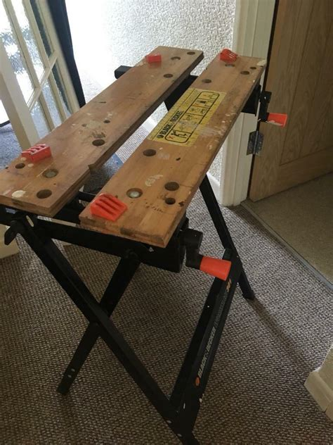 Black and decker workmate bench saw vice table | in Weston