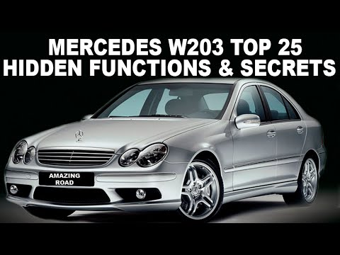 Mercedes-Benz C-Class Questions - where is the throttle