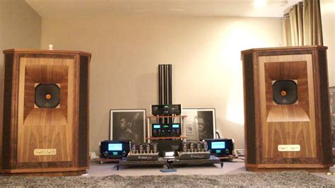"""Tannoy Westminster Royal """"Gold Reference"""" with McIntosh"""