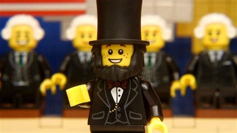 LEGO® The Bunch 'Whigs' Out -- Presidents' Day - YouTube