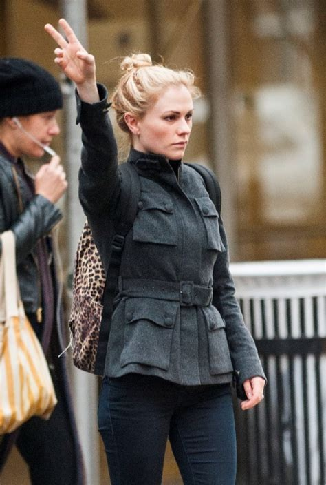 Anna Paquin in New York before The Sound Of Music Live