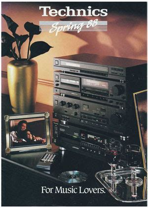 Technics For Music Lovers - Product Catalogue - HiFi Engine