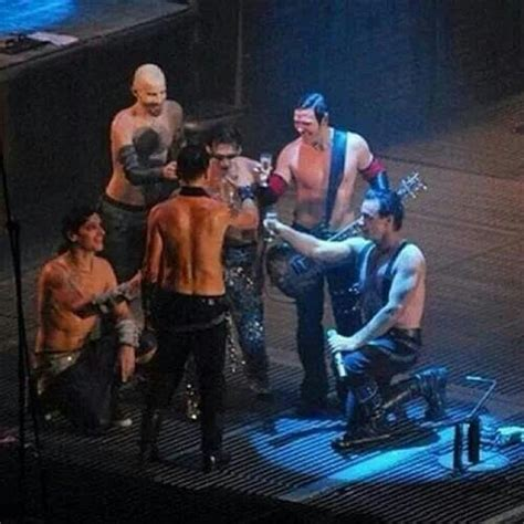 one for all and all for one! | Rammstein, Till lindemann