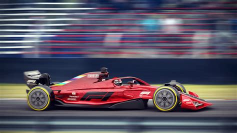GALLERY: F1 releases images of 2021 spec car - Speedcafe