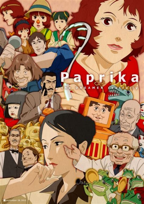 Paprika by Satoshi Kon * the music has been stuck in my