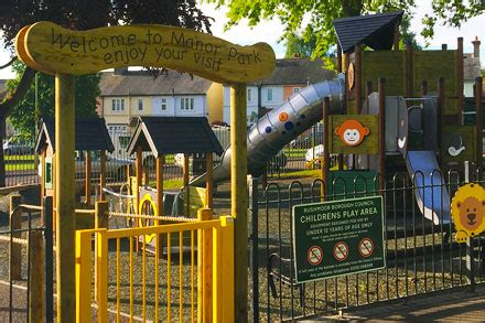Manor Park and play area - Rushmoor Borough Council