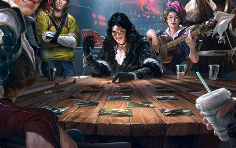 Gwent: The Witcher card game you've been waiting for since