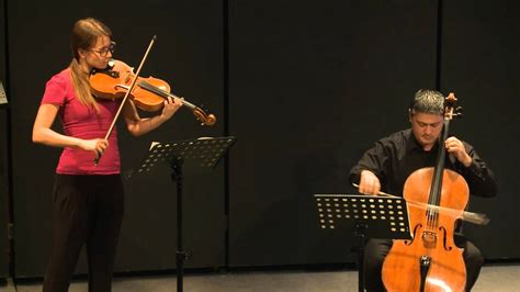 Beethoven Duo for Viola & Cello - YouTube