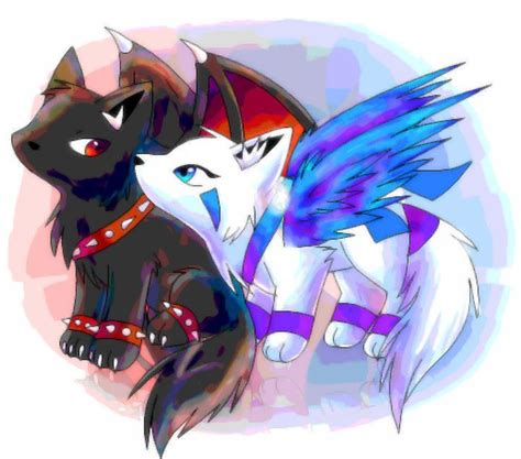wolves with wings on Pinterest | Wolves, Anime Wolf and