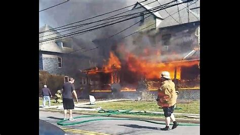 Pre-arrival video: 3-alarm house fire in PA - Statter911