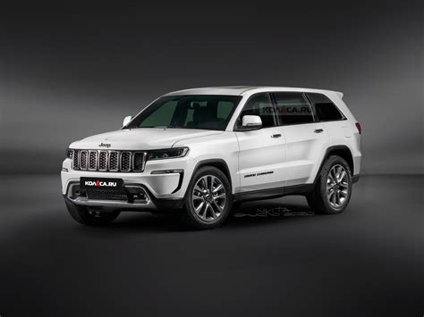 All-New Jeep Grand Cherokee Design Previewed by Accurate