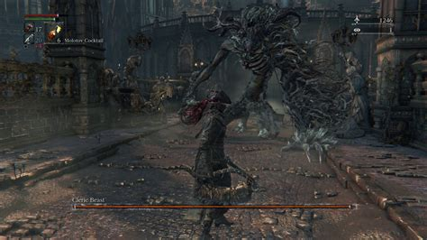 Bloodborne How To Kill First Boss Cleric Beast