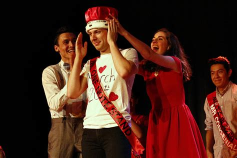 Male contestants bring talent to Mr