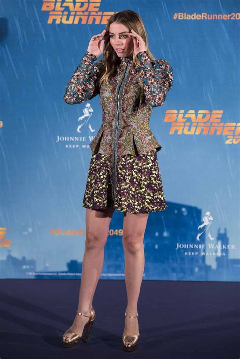 """Ana de Armas At """"Blade Runner 2049"""" Photocall in Madrid"""