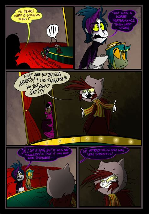 An original comic page of Zoophobia featuring Afkinz and