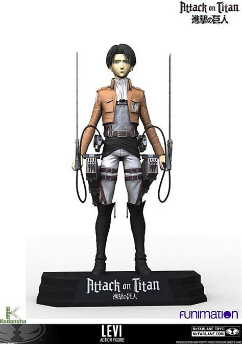 Buy Action Figure - Attack on Titan Action Figure - Levi