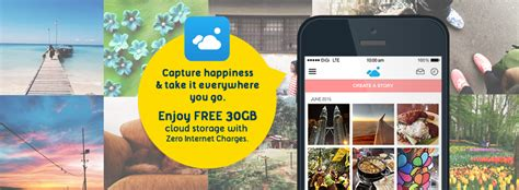Telenor's Capture app captures Asia with up to 100 GB free